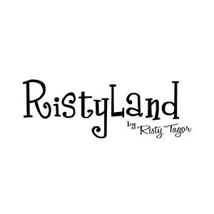 Logo merek terdaftar Risty Land
